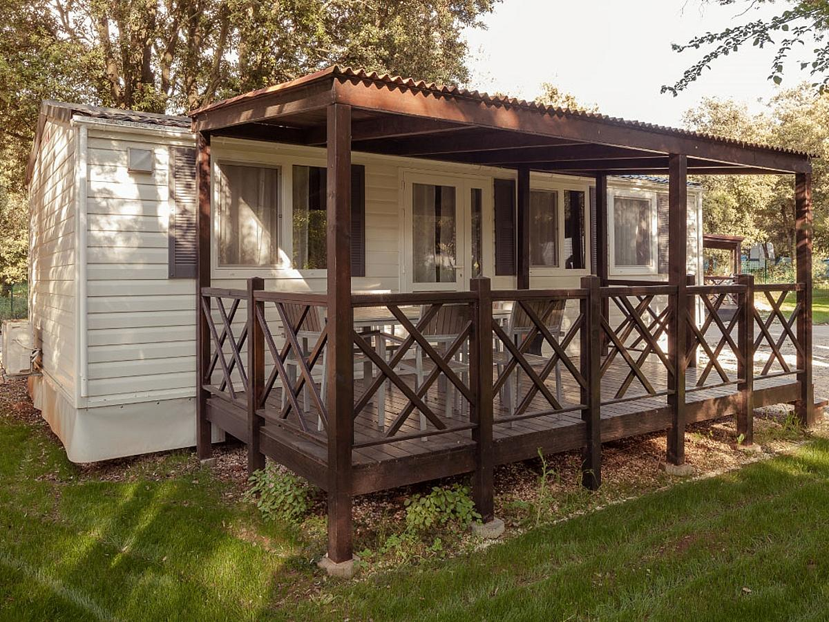 Mobile home, standard  for 4+1 people (24m2)