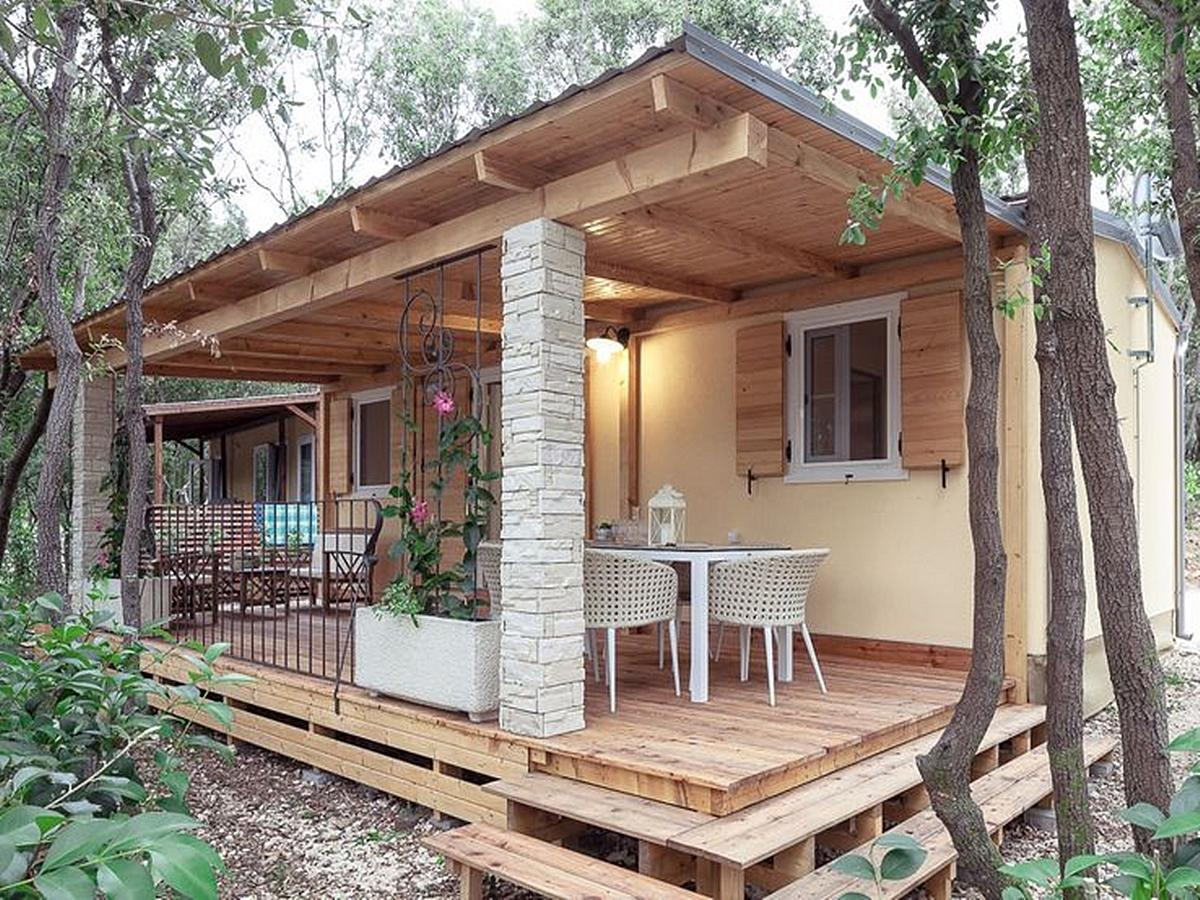 Mobile home, rustic deluxe for 4+2 people (32m2)