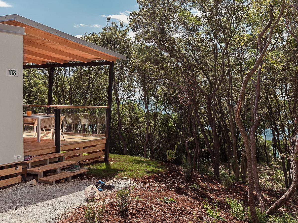 Mobilní domek, Villa Exclusive plus pro 4+2 osoby (50m2)
