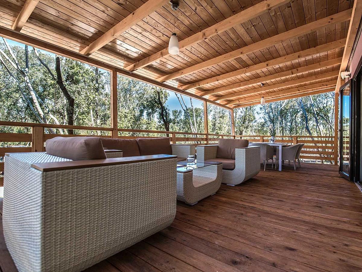 Mobilní domek, Villa Prestige pro 4+2 osoby (42m2)