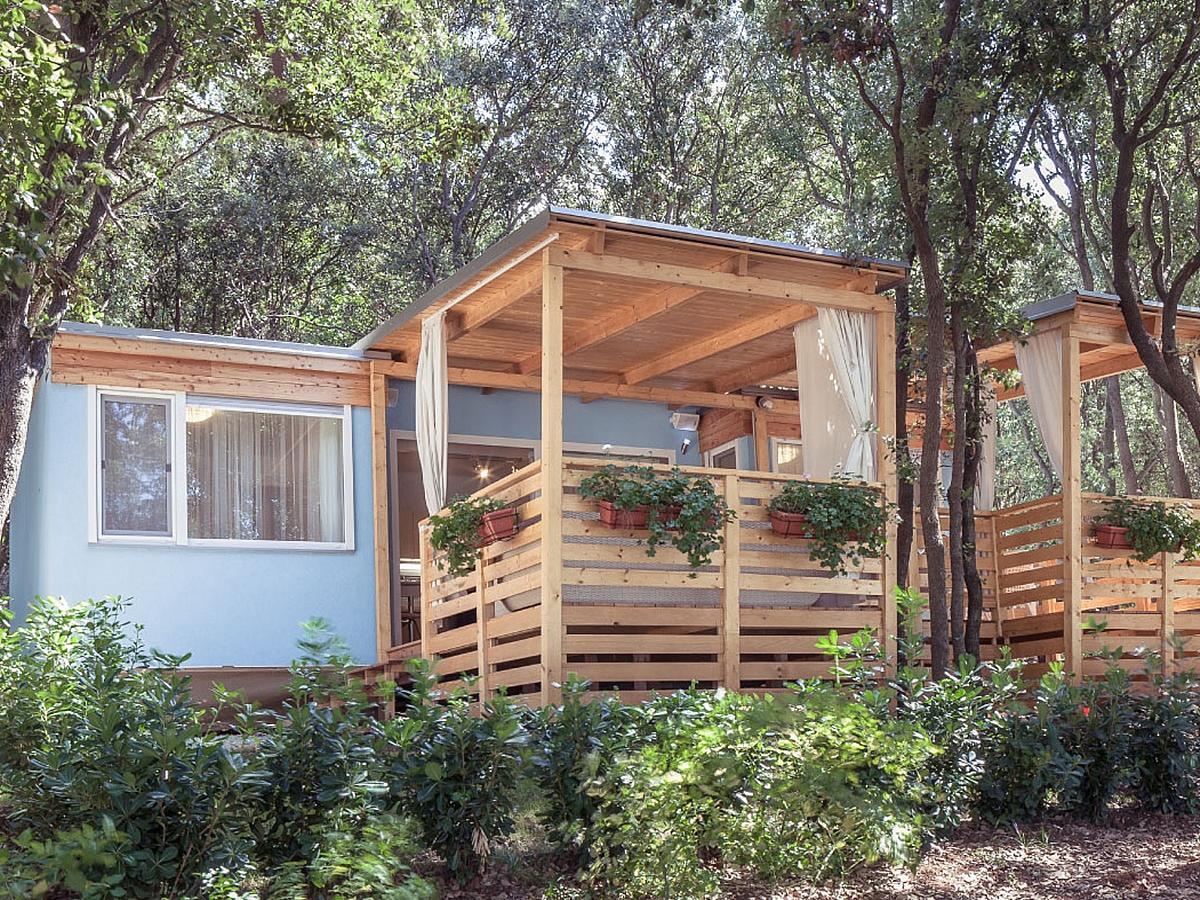 Mobilní domek, Villa exclusive výhled na moře pro 4+2 osoby (40m2)