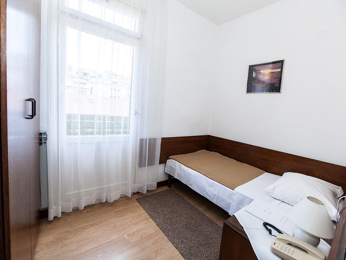 Single room standard with half board