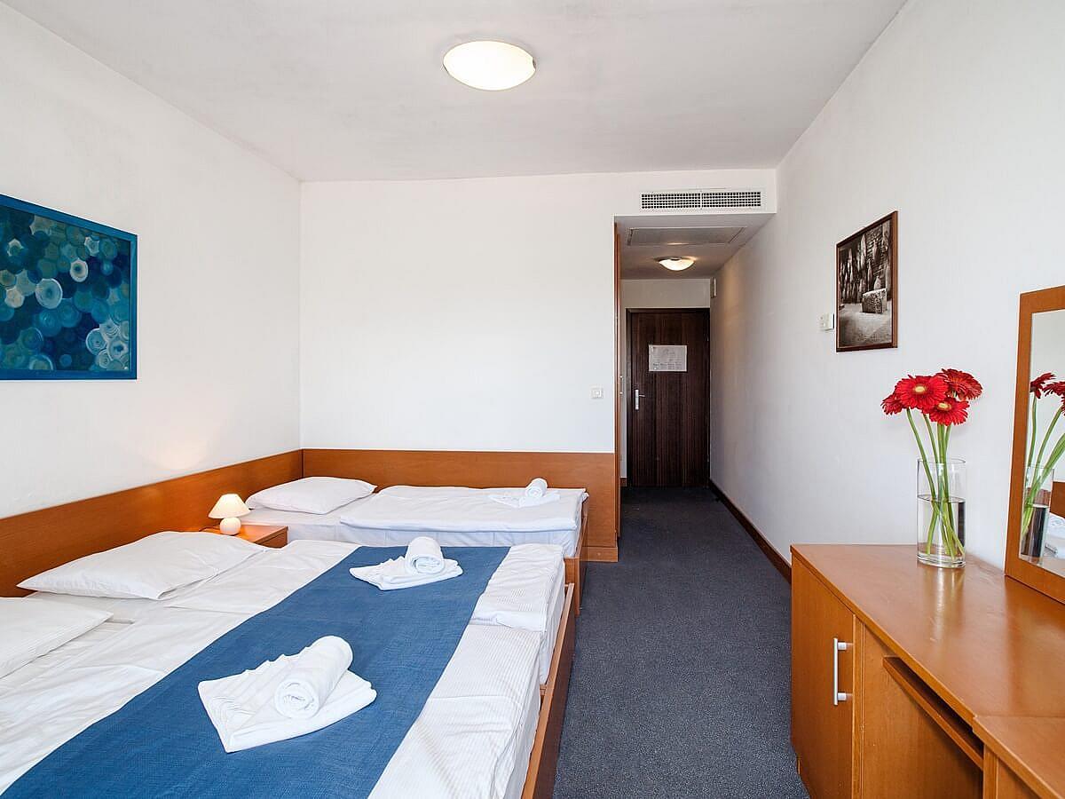 Chambre double annex  côté mer + lit supplémentaire