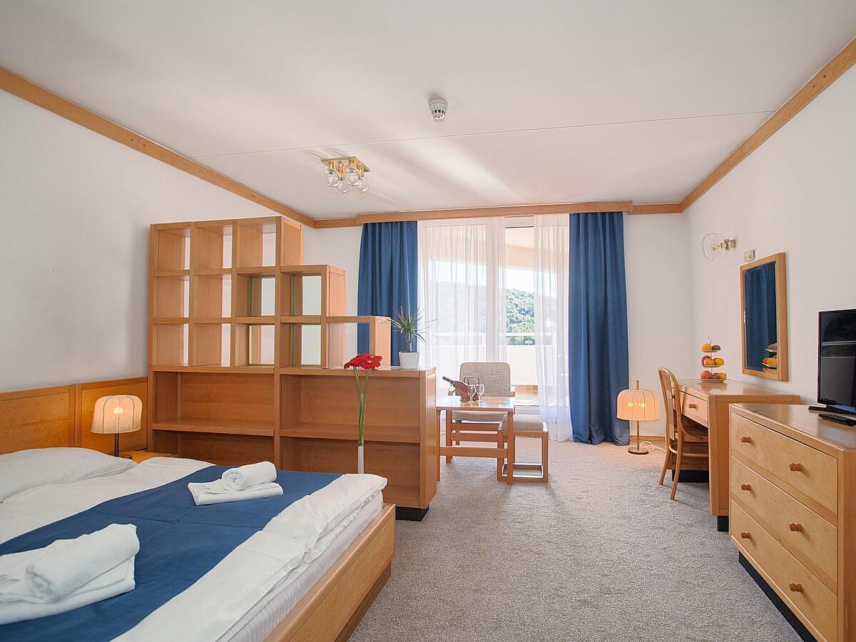 Chambre double superior bord de mer avec 2 lits supplémentaires