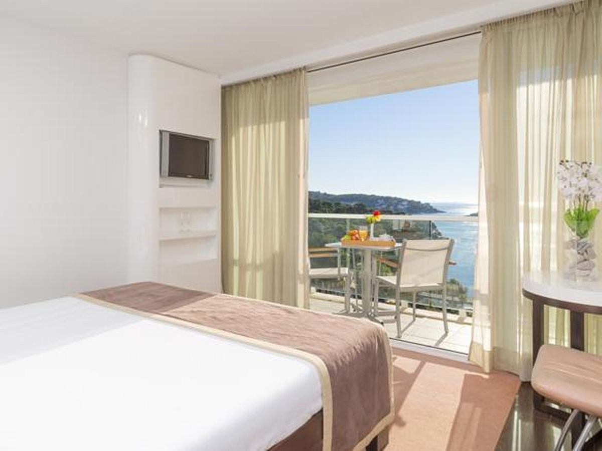 Double room, sea view, balcony with bed and breakfast - Superior
