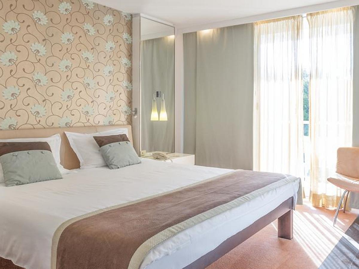Double room standard single use park side with balcony bed and breakfast