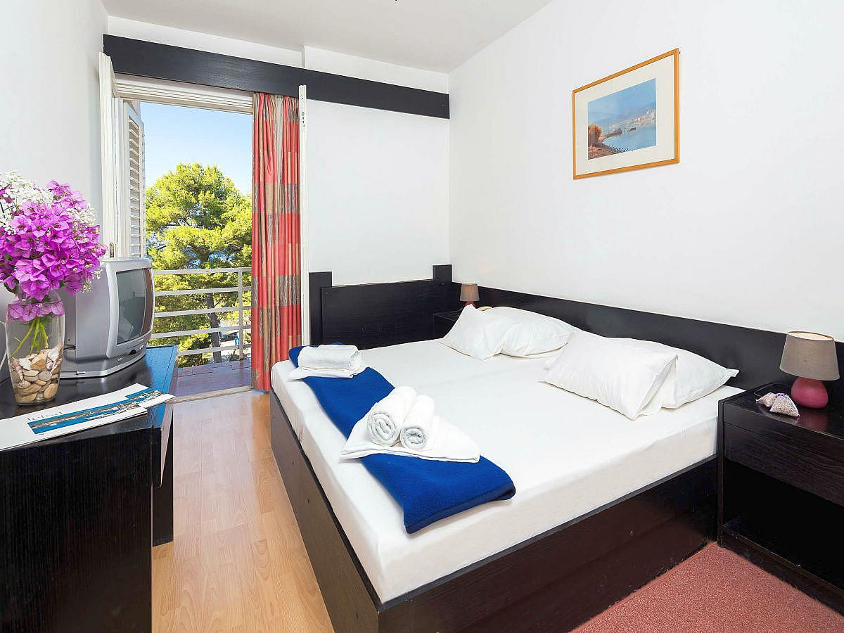 Double room sea side with balcony - all inclusive