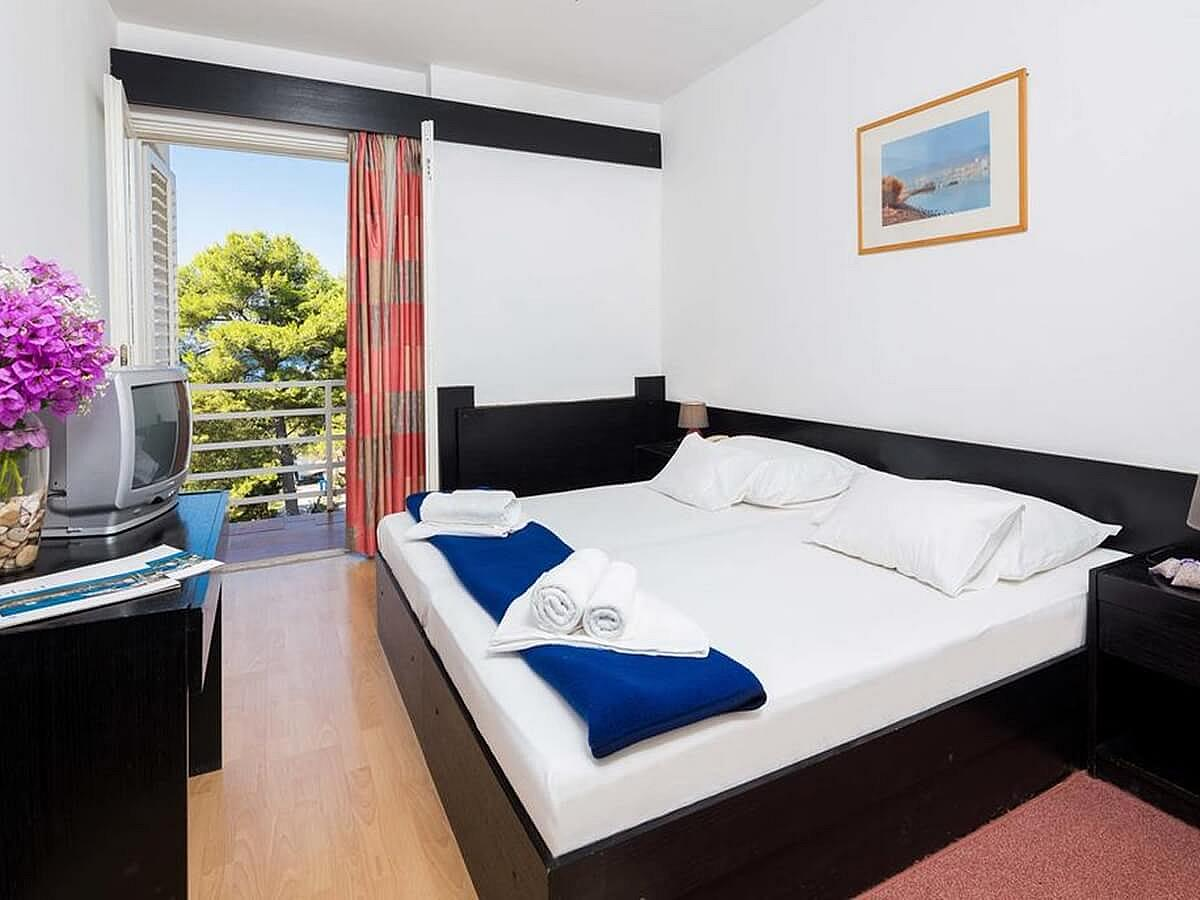 Double room park side with balcony - all inclusive