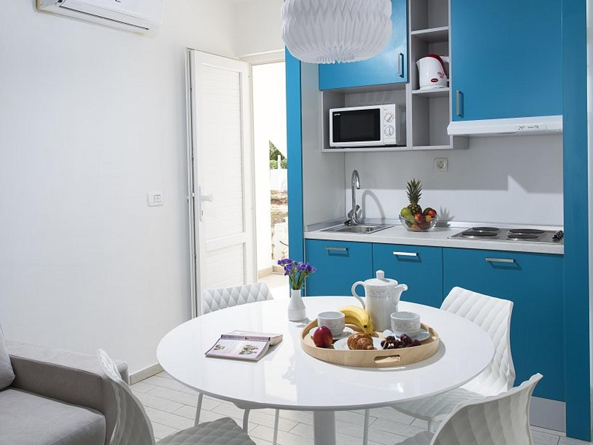 Apartment for 5 persons, half board service
