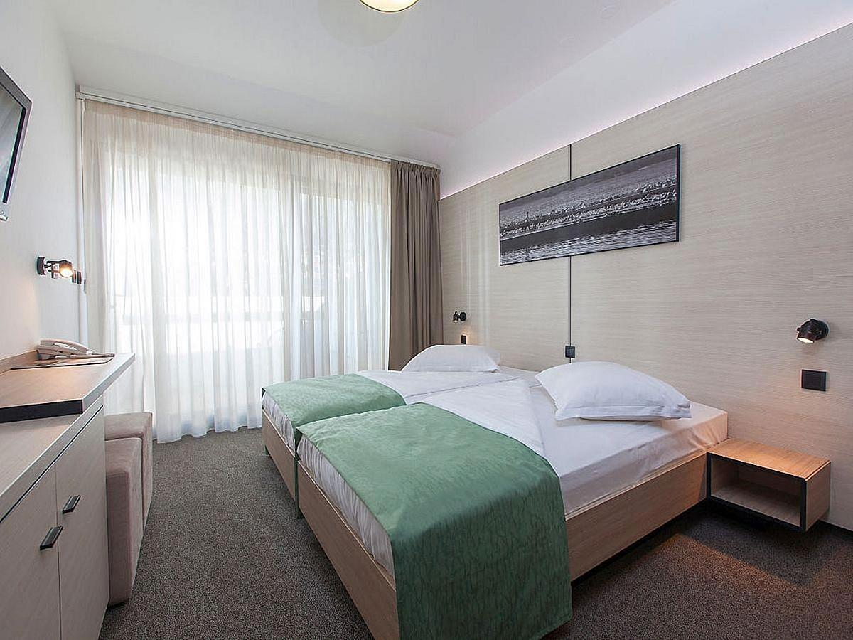 Double room with balcony and air condition and mountain view with half board