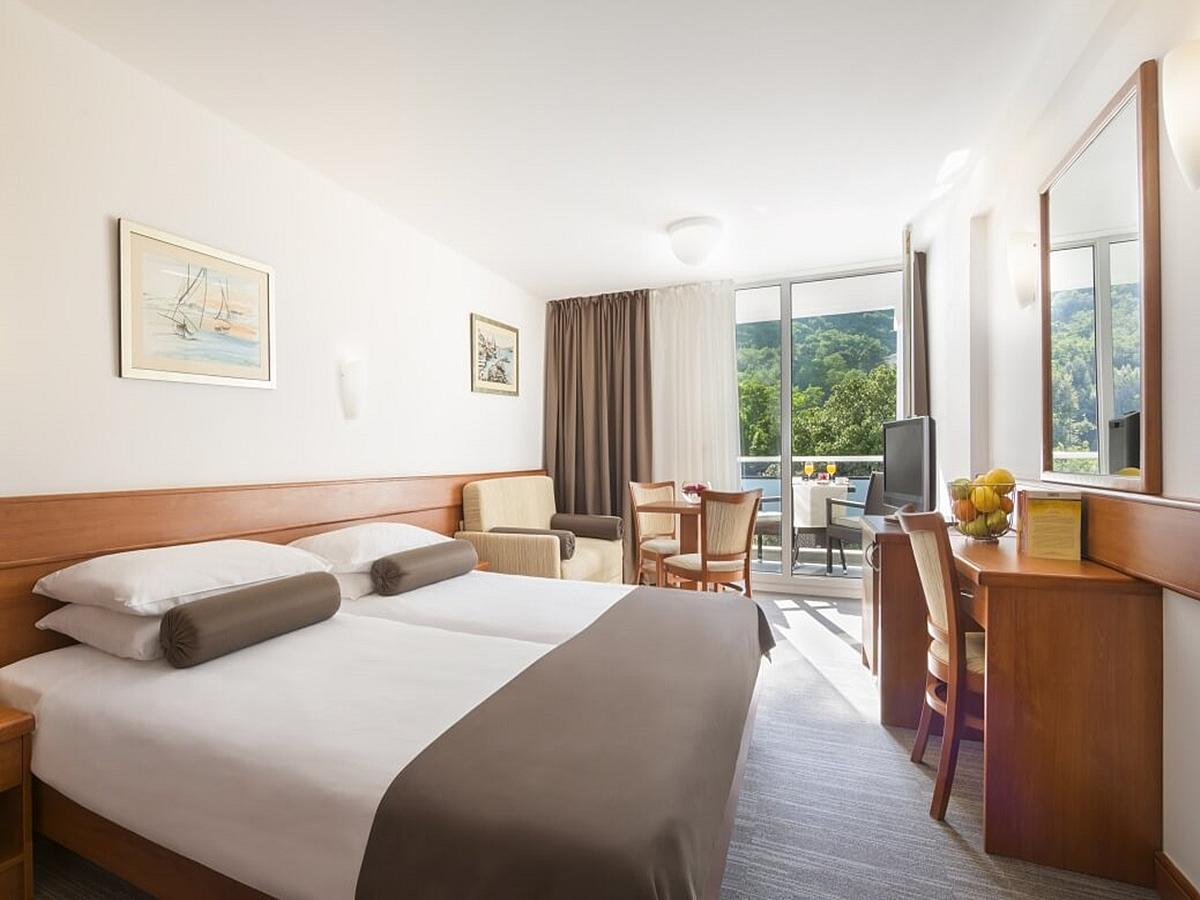 Double room superior park/hill side and balcony with half board