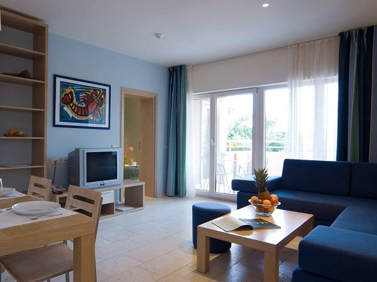 Apartma za 4 osebe - tip 2- pogled na morje