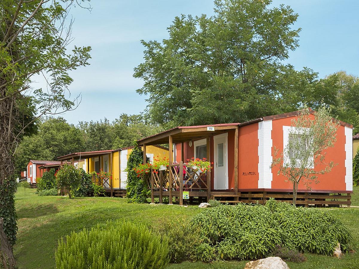 Mobilní domek pro 4+2 osoby - Mediterranean Premium Village
