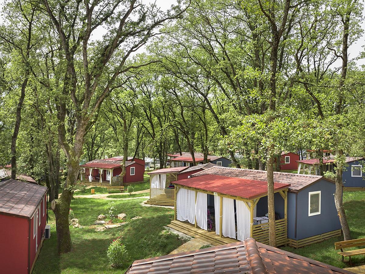 Mobilní domek pro 4+2 osoby - Relax Premium Village