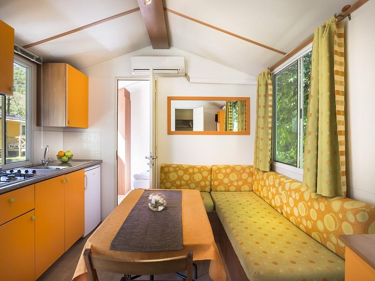 Mobile home for 4 people Standard (cca 25m2)