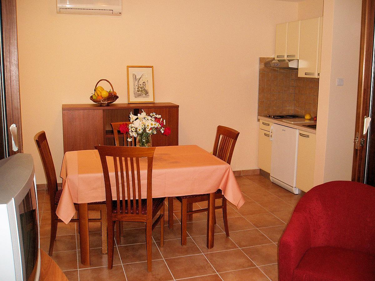 Apartement für 2 Personen + 2 Zusatzbett