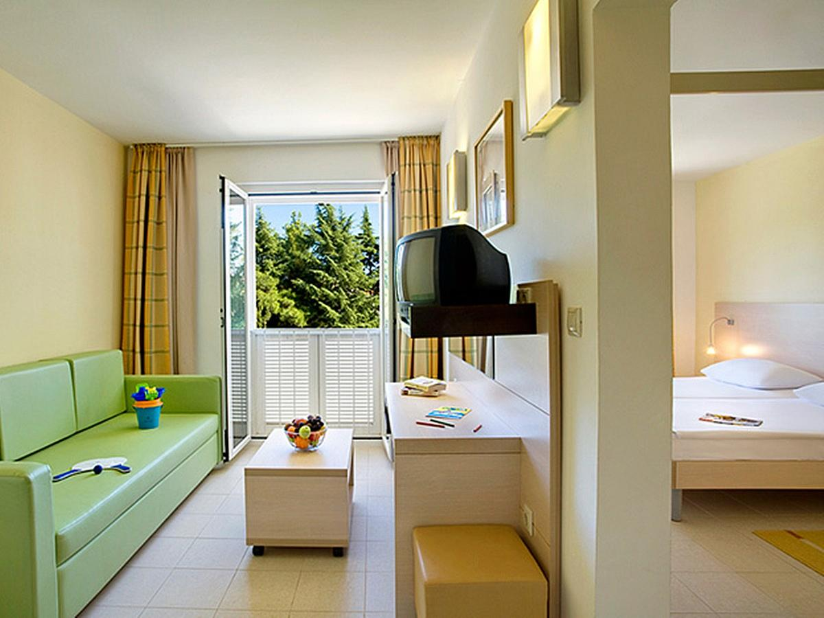 Dvojposteľová izba junior suite all inclusive