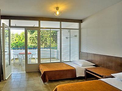 Apartment für 3 Personen, Superior Meerseite mit Balkon - Type A