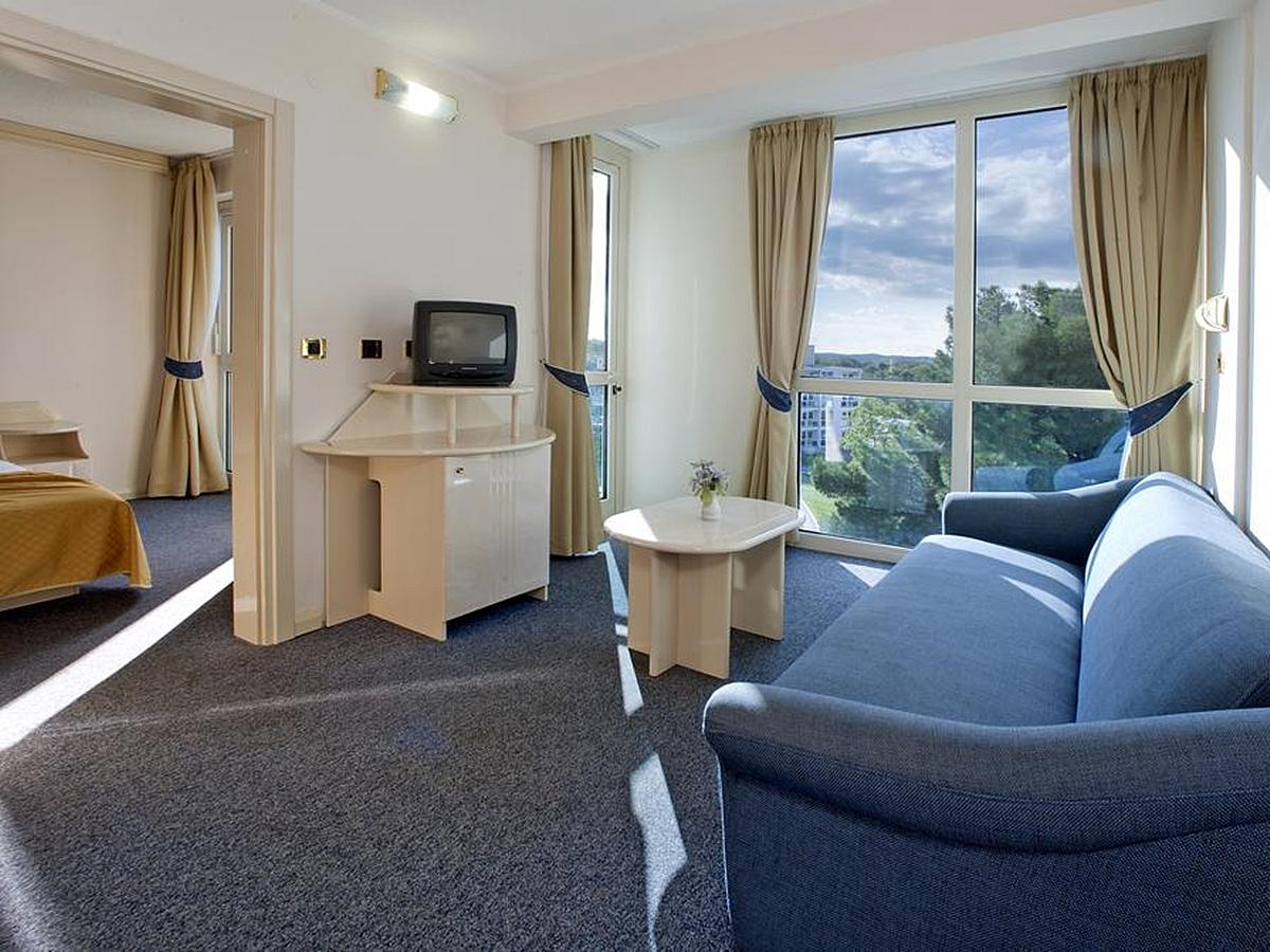Double room with balcony and half board - suite