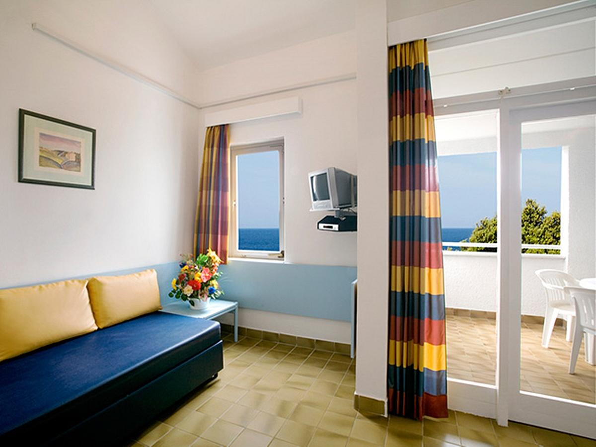 Apartment for 4 people with balcony