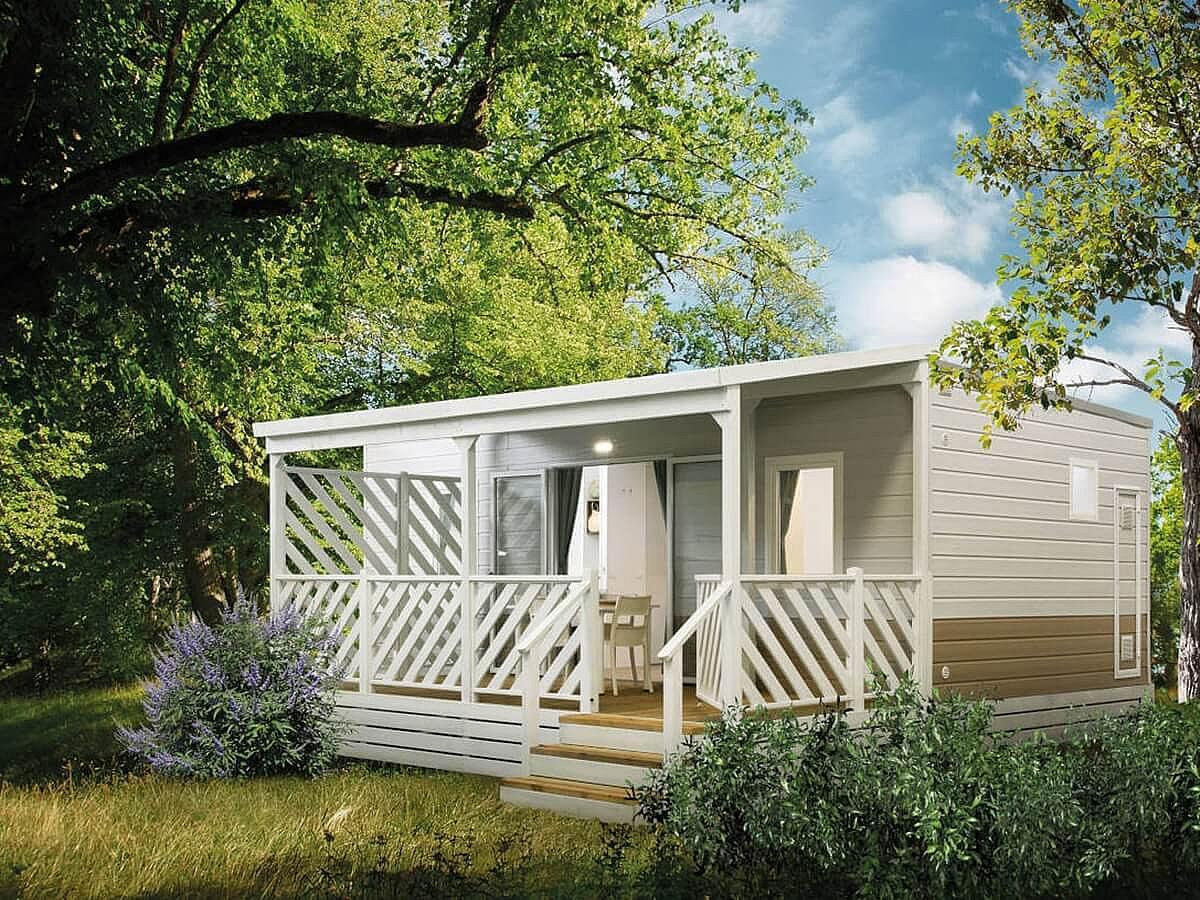 Mobilhaus Comfort für 6 Personen