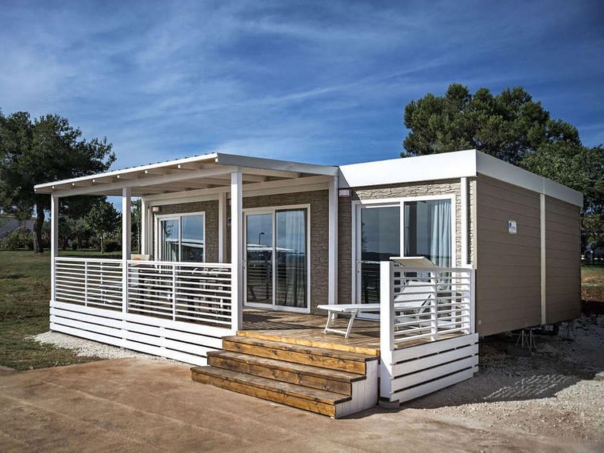 Mobilehaus für 4 persons Brioni beach