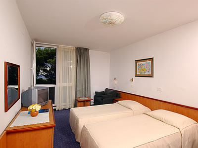 Double room suite, junior with 2 help beds and half board