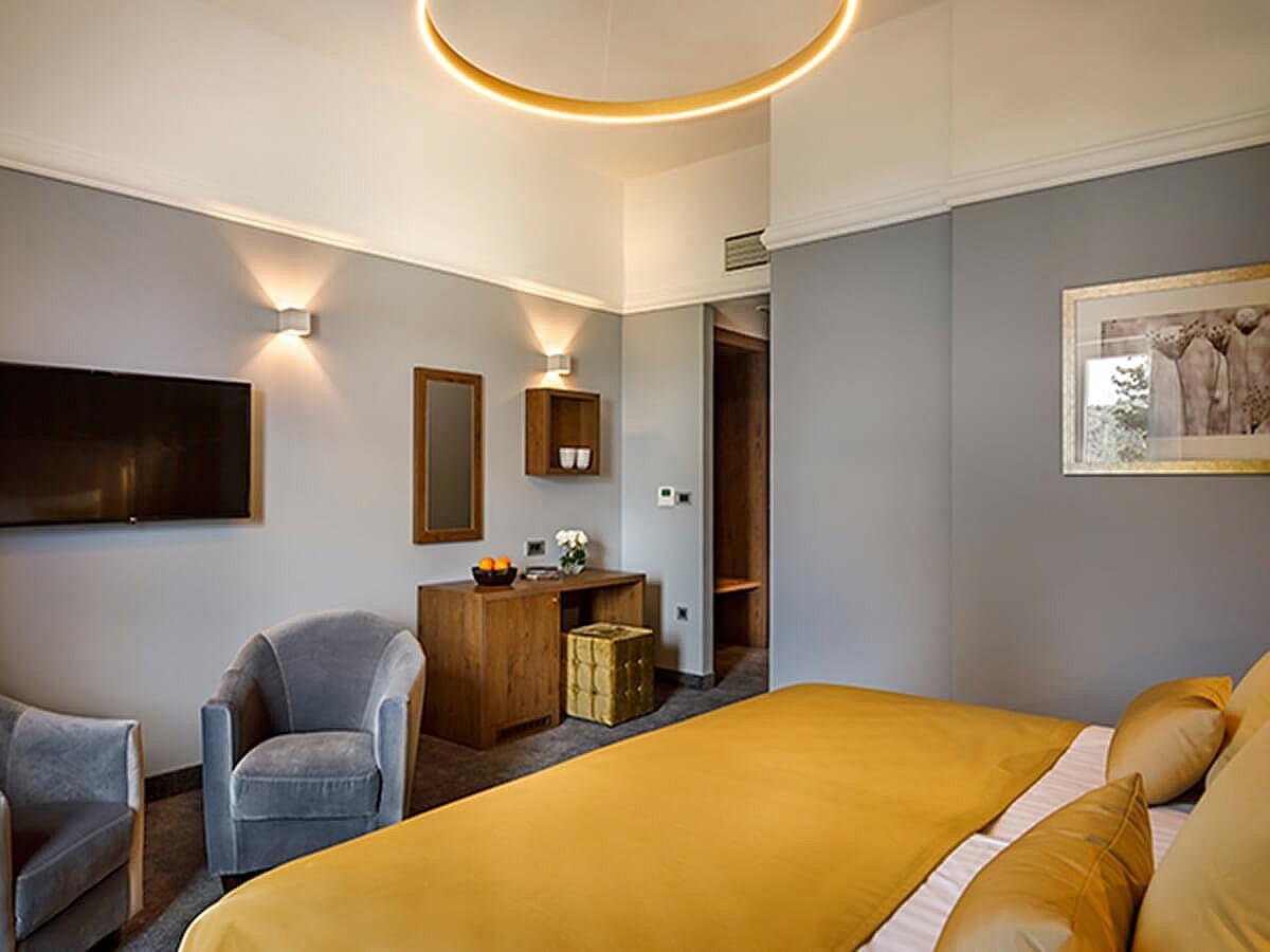 double room premium with half board