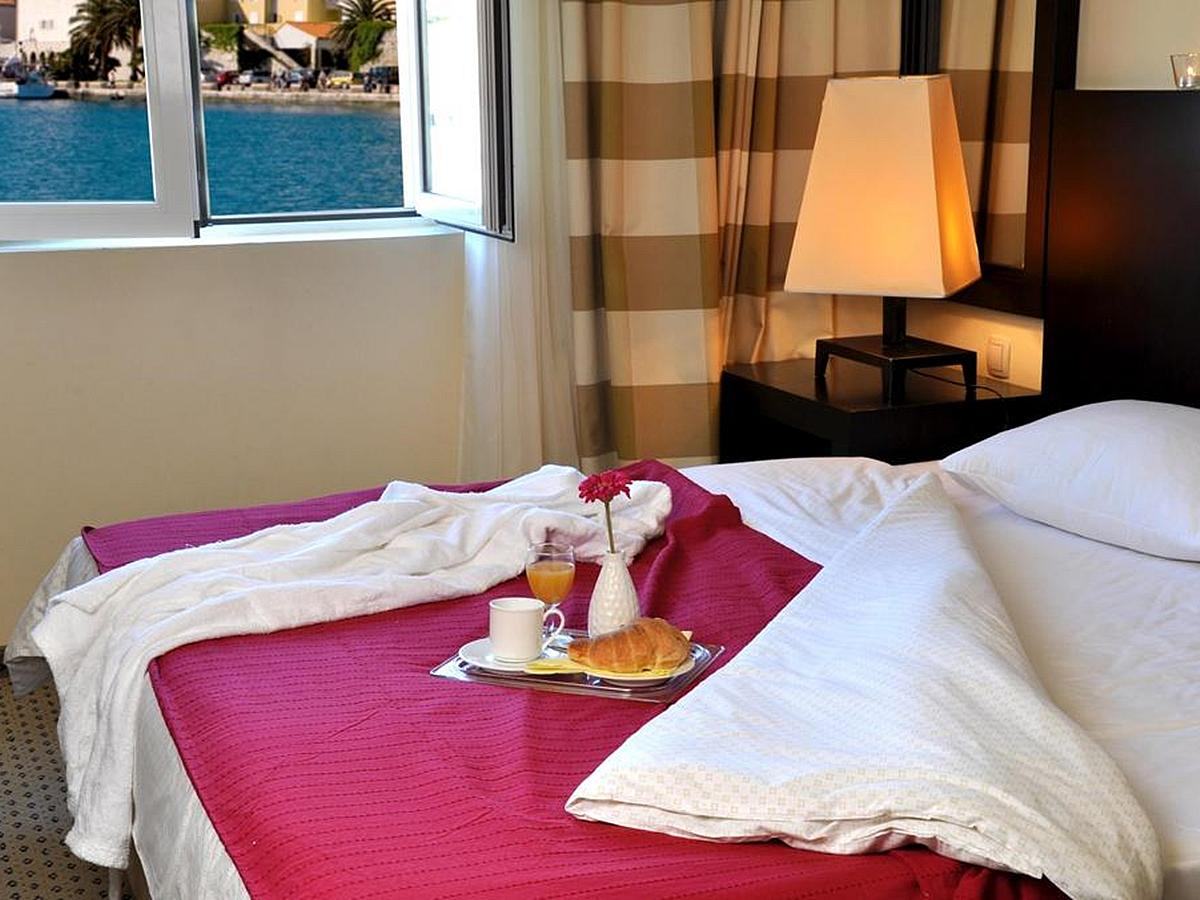 Double room marina view with half board
