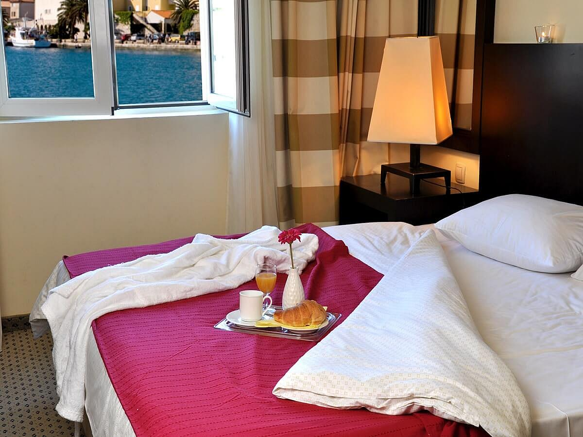 Double room + 2 help beds marina view  with half board