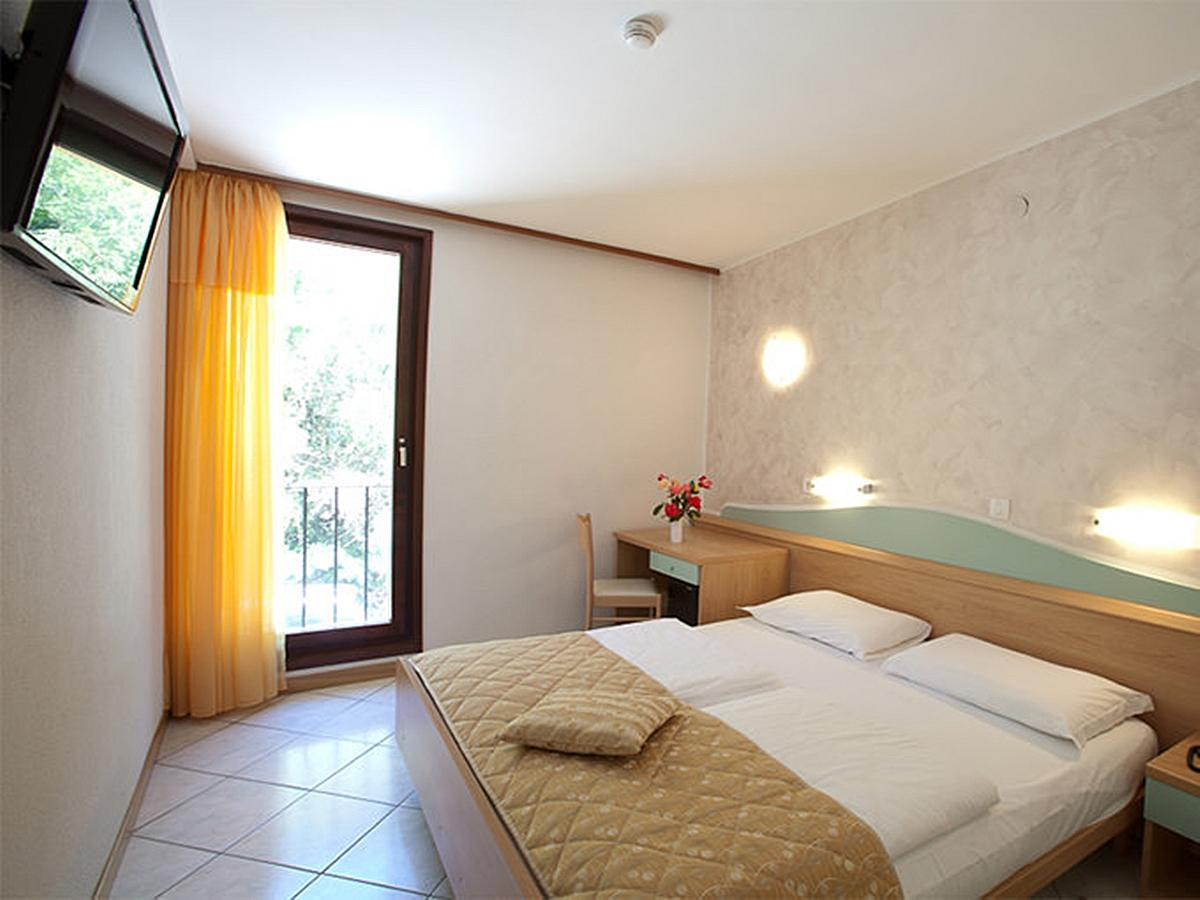 Double room standard street side with half board