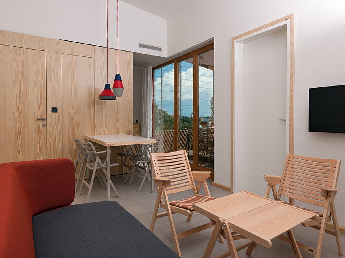 Apartmán pro 3 dospělé nebo 2 dospělí a 2 děti