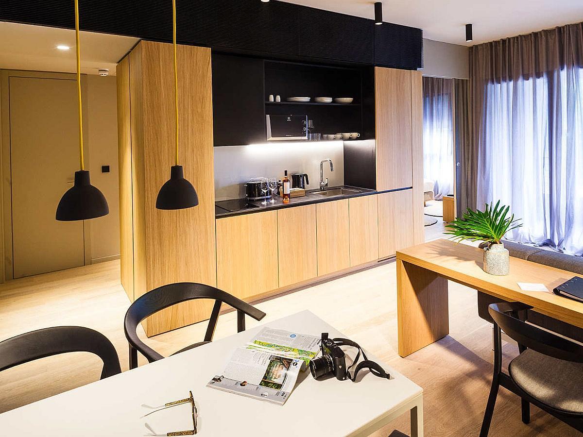 1 bedroom apartment (2-4 persons) - bed & breakfast
