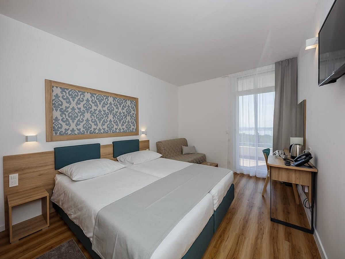 Double room park side Superior New with half board