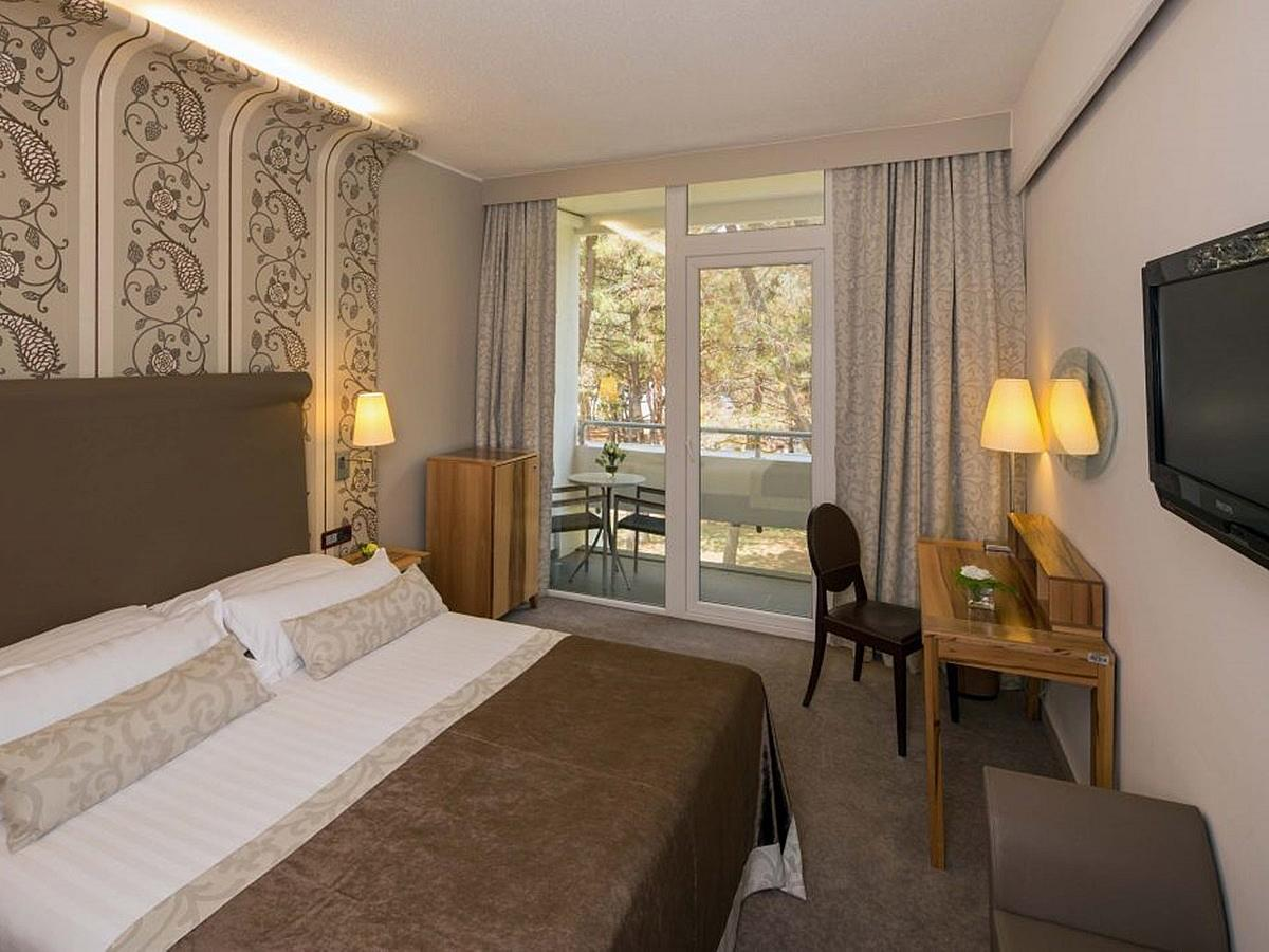 Double room park side with balcony - classic, french bed - halfboard
