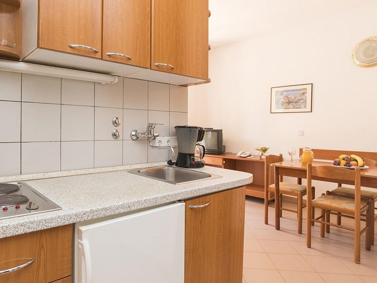 Appartement pour 2 personnes + 21 lit supplémentaires, côté parc avec balcon - economy