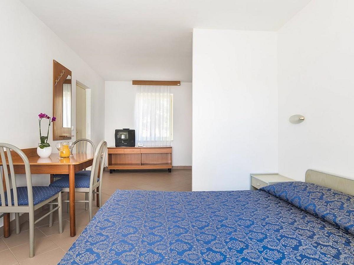Studio pour 2 personnes + lit supplémentaire côté parc avec balcon - economy