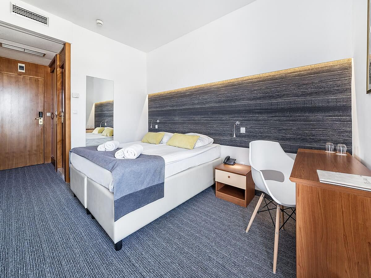 Double room with half board - Standard,single use