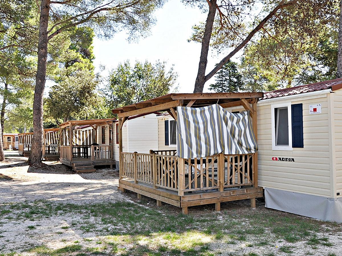 Mobile home for 4+1 people  (24M2)